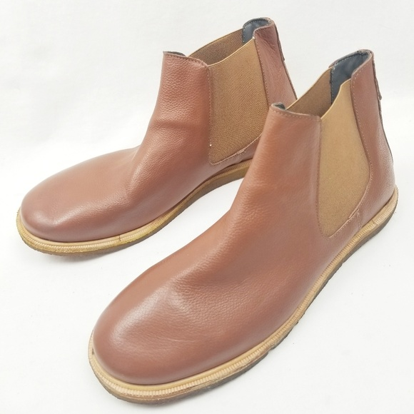 Frank Wright Shoes Chelsea Boots Tan Leather Poshmark